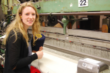 Textile designer draws inspiration for new collection from ancestor