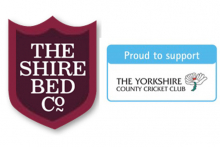 The Shire Bed Company sponsors Yorkshire Cricket Club