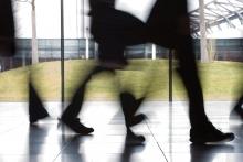 Footfall down despite buoyant sales