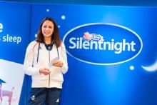 Olympian recognises Silentnight employees' achievements