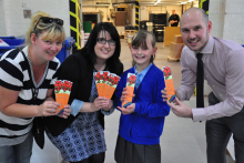 Youngsters' designs to raise vital funds for children's literacy charity