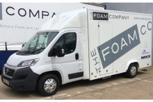 The Foam Company takes to the road
