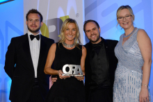 Sweetpea & Willow named Small Online Retailer of the Year at The Online Retail Awards