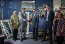 Indonesian trade mission visits Gallery Direct