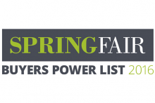 Spring Fair Buyers Power List 2016 launched