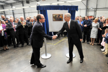 A Royal opening for Hypnos' contract premises