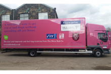 The Shire Bed Company's new delivery vehicles make a statement