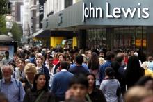 Sales up at John Lewis