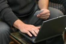 Online sales growth slow through April