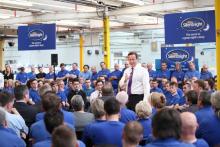 David Cameron praises Silentnight in House of Commons