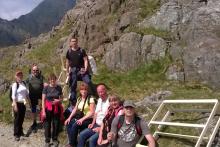Slumberland's Snowdon climb for cancer