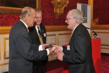 John Makepeace OBE FCSD awarded Prince Philip Designers Prize 2016