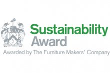 The Furniture Makers' Company opens up Sustainability Award to all UK furnishings manufacturers