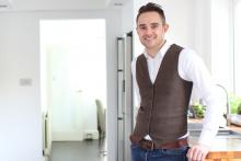 Interior design champion, Martin Holland