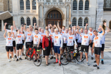 Charity cyclists set off to Bordeaux