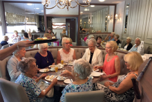 Anniversary afternoon tea raises over £1000 for local cancer support group