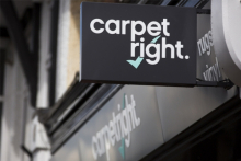 Carpetright HY sales hit