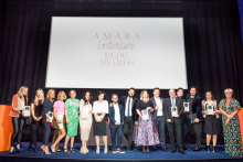 Sweetpea & Willow recognised for Best Organisation Blog at the Amara Interior Blog Awards