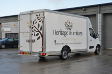Heritage Furniture invests in custom-built show van