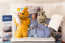 Silentnight to help BBC's Graham Liver go the extra mile for Children in Need