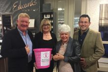 Sold out afternoon tea for local cancer charity raises £1300