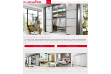 New look for Wiemann UK's website