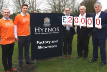 Hypnos partners with children's charity Magic Breakfast