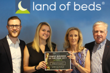 Land of Beds crowned National Retail Family Business of the Year 2017