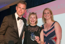 Feather & Black celebrates win at the Direct Commerce Awards