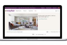Wayfair launches photo search function