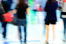 Footfall continues to decline in February