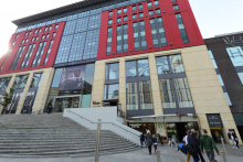 Footfall and sales growth at Mailbox, Birmingham
