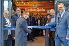 John Lewis MD opens bedmakerInnovation Centre