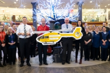 Glasswells quiz raises funds for air ambulance