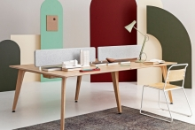 In Design: Cameron Fry's Theodore Bench-Desk System