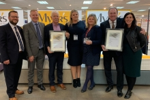 Myer's receives twoaccolades from AIS
