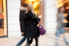 Shop vacancies peak as footfall drops in July