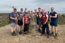 Land of Beds hike raises funds for counselling charity