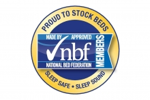 Dura Beds suspended from bed federation