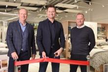 Bedlinen specialist unveils new showroom