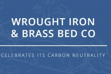 Iron bed supplier achieves carbon-neutral status