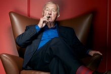 Natural habitat: Sir Terence Conran in the hotseat