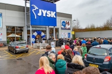 JYSK Oldham attracts record-breaking opening footfall