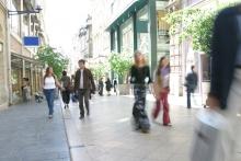 Curfew punishes high street footfall