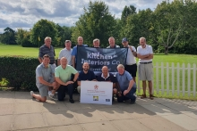Charity golf events raise funds for furniture industry