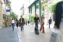 Footfall improves in May as restrictions ease